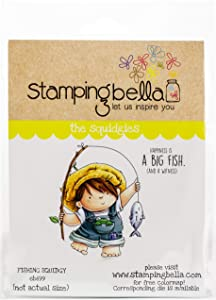 Stamping Bella Cling Stamps, Football Squidgy