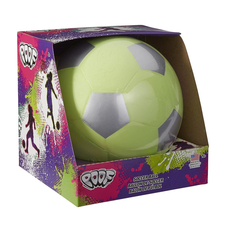 Poof Trendy Colores 7,5 en. Balón de fútbol en Caja: Amazon.es ...