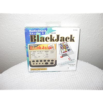 Radio Shack Deluxe 2 Player Blackjack: Toys & Games