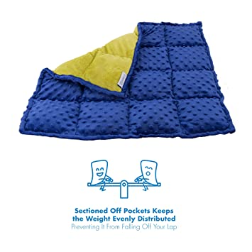 Review Sensory Weighted Lap Pad
