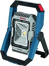 Bosch GLI18V-300N 18V Articulating LED Worklight (Bare Tool), GLI18V-1900N, 1900 lúmenes, Azul