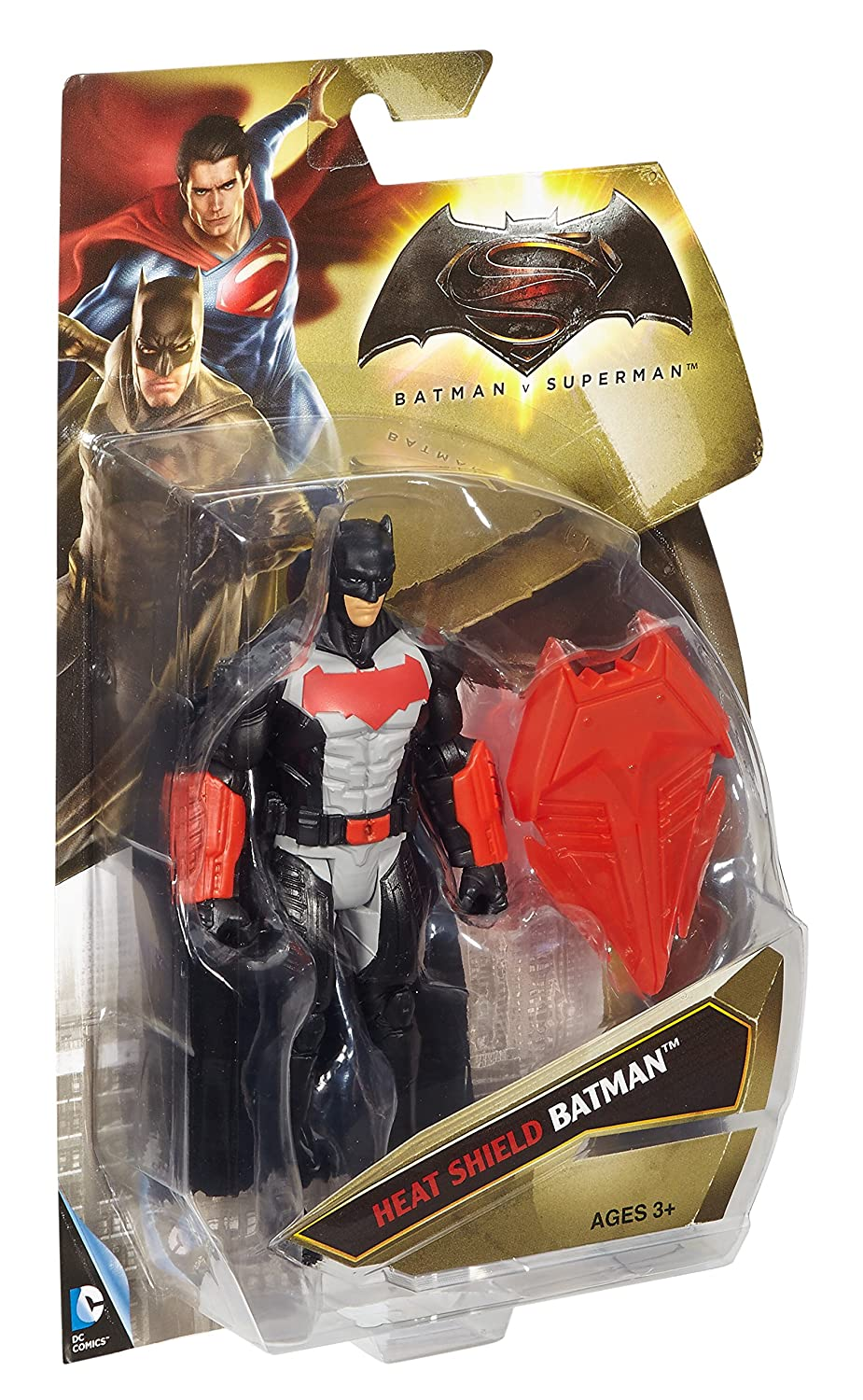 Batman v Superman Dawn of Justice Heat Shield Batman 6 Figure
