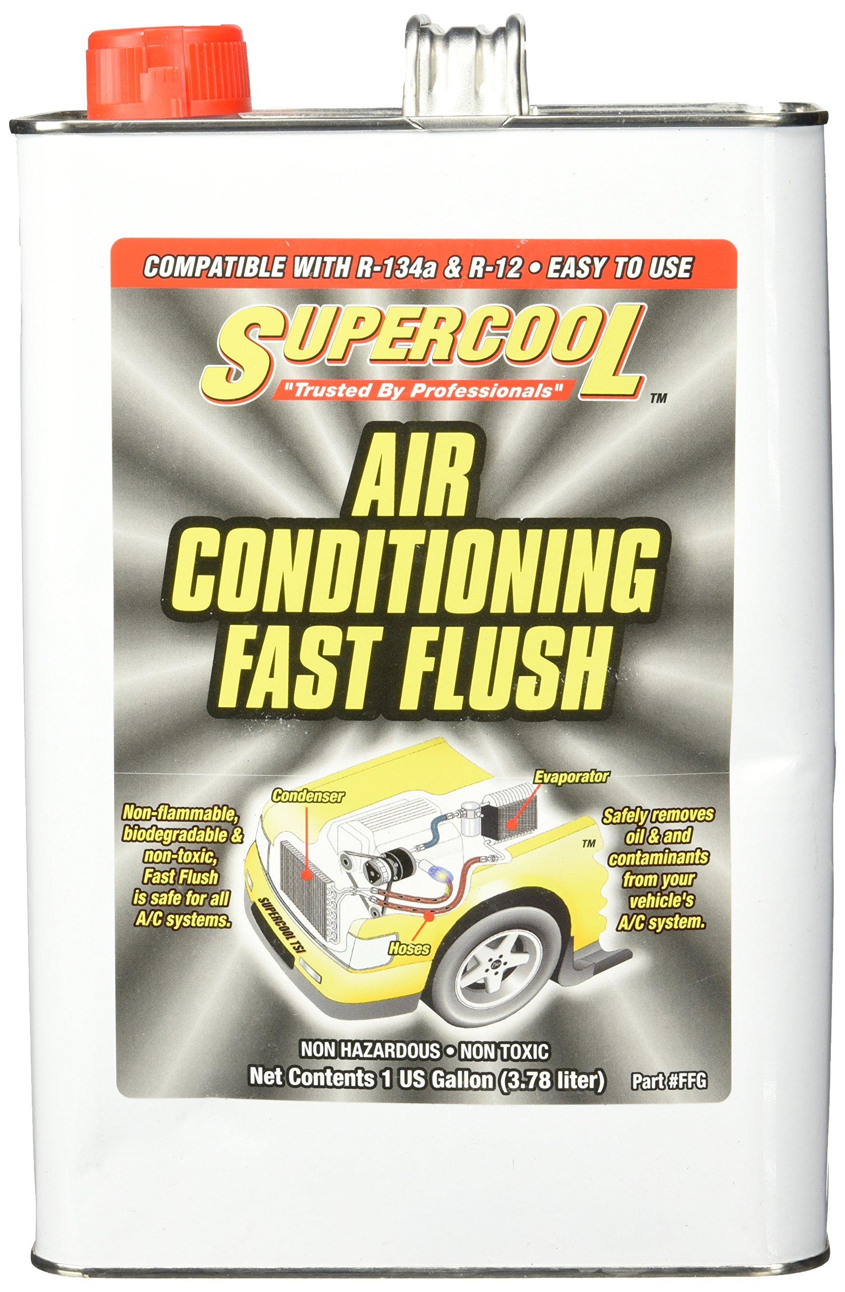 TSI Supercool FFG High Temp A/C Flush, 1 Gallon (Flash Point Greater Than 250 F)