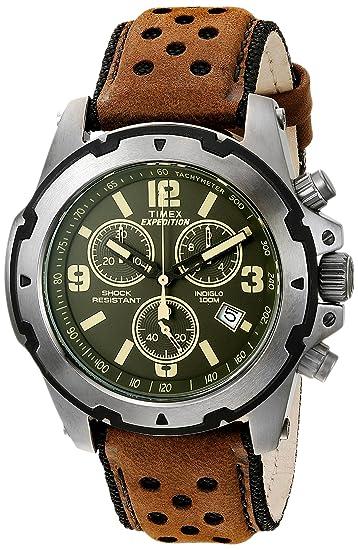 nuevo concepto 6021a ac05b Timex Expedition Sierra Cronógrafo Reloj