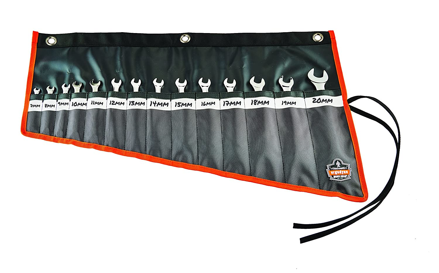 Ergodyne Arsenal 5873 Wrench Roll-Up Pouch Black 14-Pockets Tall