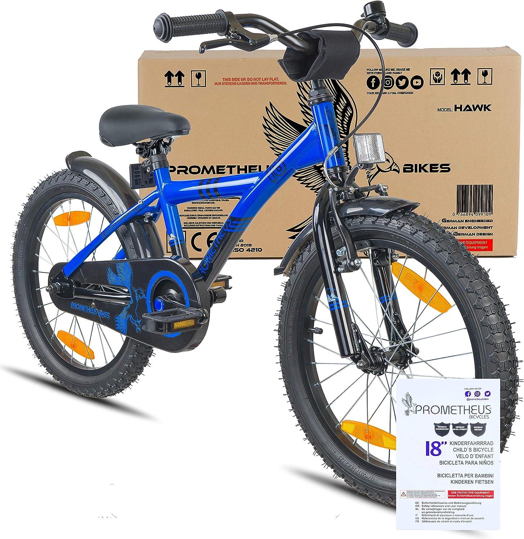 Prometheus Bicicletta Bambini 3-5 Anni da 12 Pollici per Bambino e ...