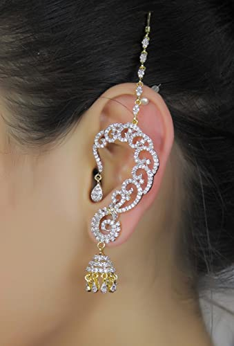 Buy Gorgeous Bollywood Style Gold Tone Ear Cuff Earring Indian