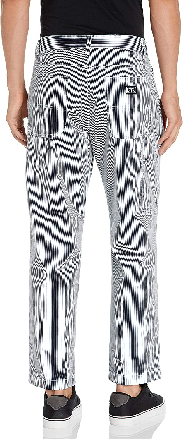 Obey Men's Classic Fit Carpenter Work Pant: Clothing
