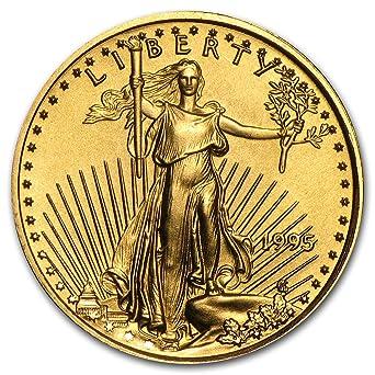 1995 American Gold Eagle 1//10 oz $5 NGC MS69