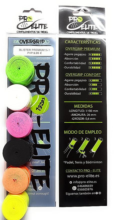 overgrips Pro Elite Premium Lisos (Elige Tus Colores ...