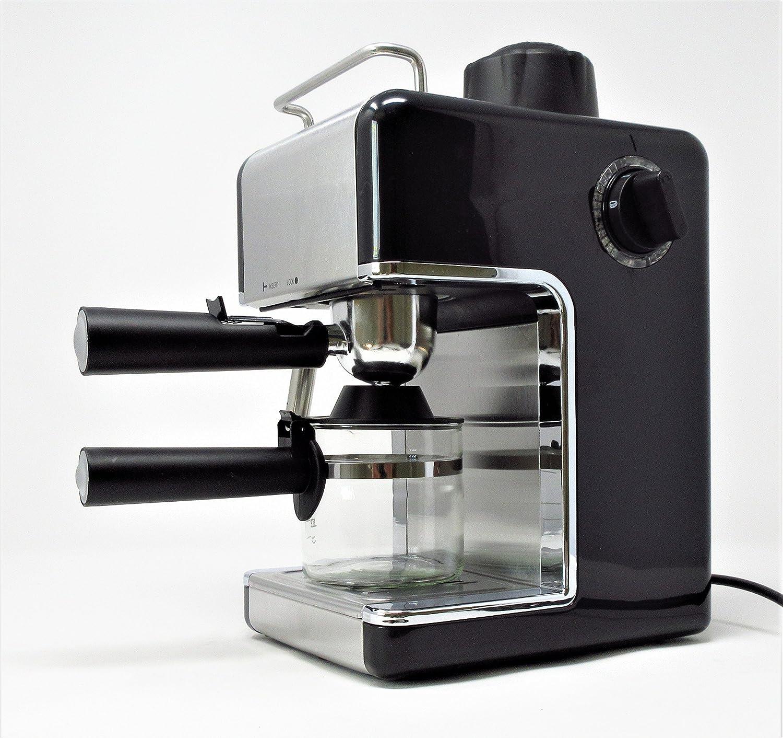 Cookspace î 4-Cup Steam Espresso & Cappuccino, Latte ...
