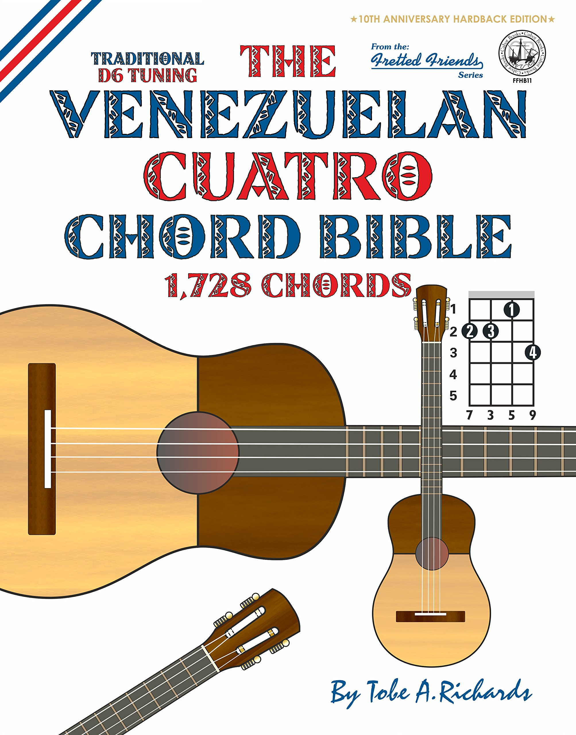 Amazon The Venezuelan Cuatro Chord Bible Traditional D6