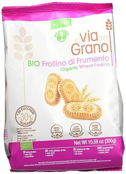 Probios La Via Del Grano Galletas de Trigo Frollino - 1 paquete