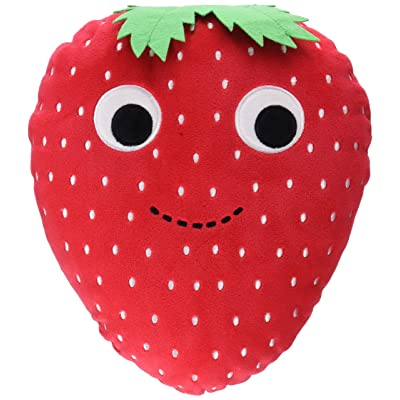 Kidrobot Yummy World Medium Sassy Strawberry Plush Collectable Plush Toy: Toys & Games
