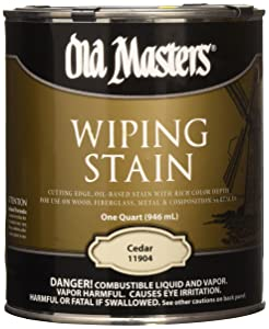 OLD MASTERS 11904 WIP Stain, Cedar