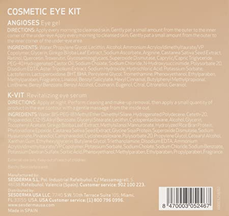 Amazon.com: Sesderma Anti-Dark Circles Kit: Luxury Beauty