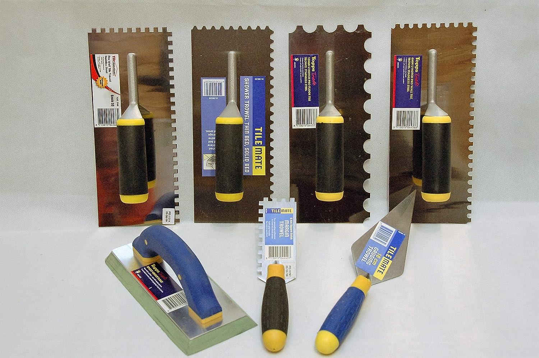 Pro Tilers Starter Kit Wall Floor Tile Trowel Grout Float Adhesive Tiling DIY Bathroom Kitchen Vitrex