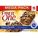 2-Pack Fiber One Chewy Bars, 15 Bars 21.2 oz