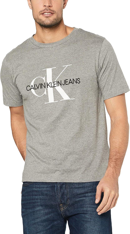 Calvin Klein J30J311293 Camiseta Hombre Gris XS: Amazon.es: Ropa y accesorios