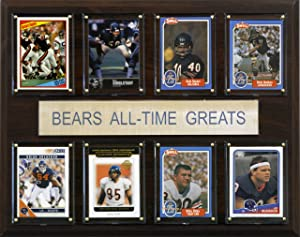 NFL Chicago Bears All-Time Greats Plaque