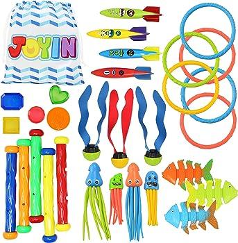 JOYIN Diving Pool Toys Jumbo Set for Kids