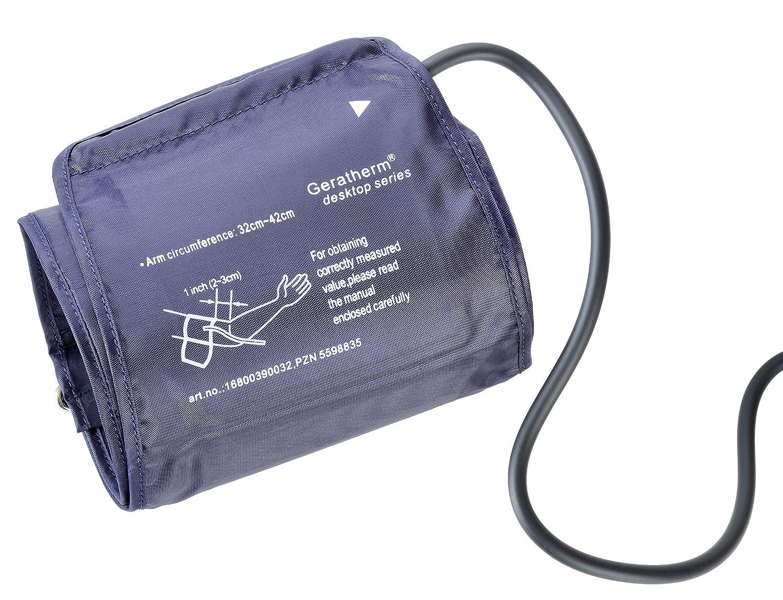 Geratherm - Manguito de repuesto para tensiómetro GP-6621 y desktop 2.0 GT-6630: Amazon.es: Salud y cuidado personal