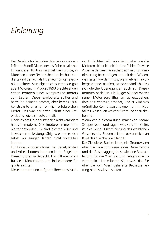Bücher Sachbücher Praxisbuch Segler Segelschiffe Dieselmotoren Funktion Betrieb Wartung Buch NEU