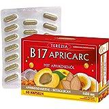 TEREZIA B17 Apricarc mit Aprikosenol, Austernpilz, Reishi und Sanddorn 1600 mg (60 St)