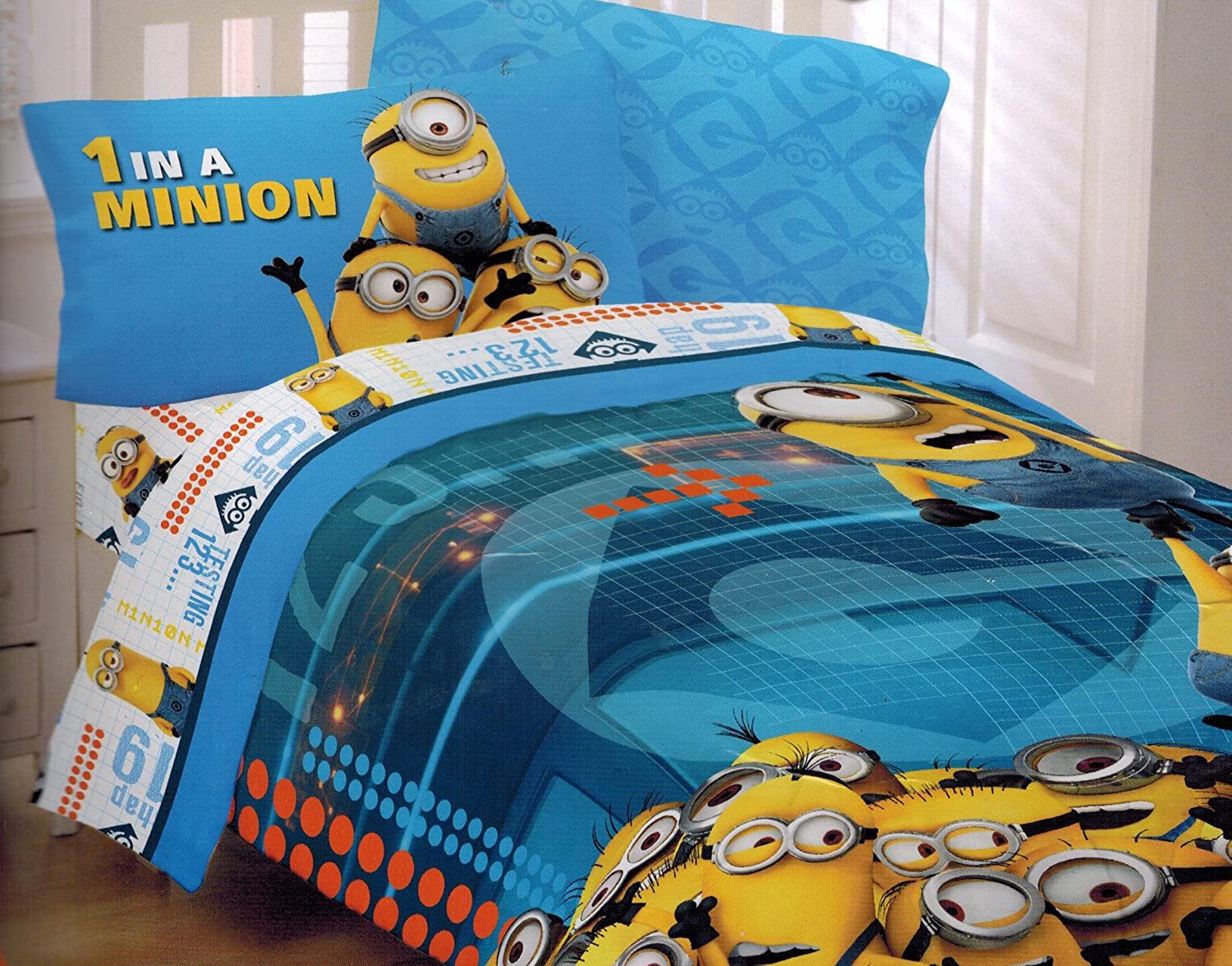 Minion Bedroom Kids Cute Minion Bedroom Decor From Despicable Me Movie