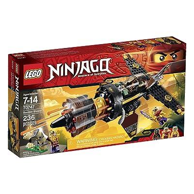 Lego Ninjago Boulder Blaster Toy: Toys & Games