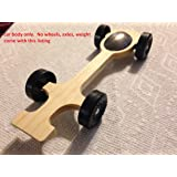 Ultralite Pinewood Derby Car Body Only - Canopy #7 by Derby Dust