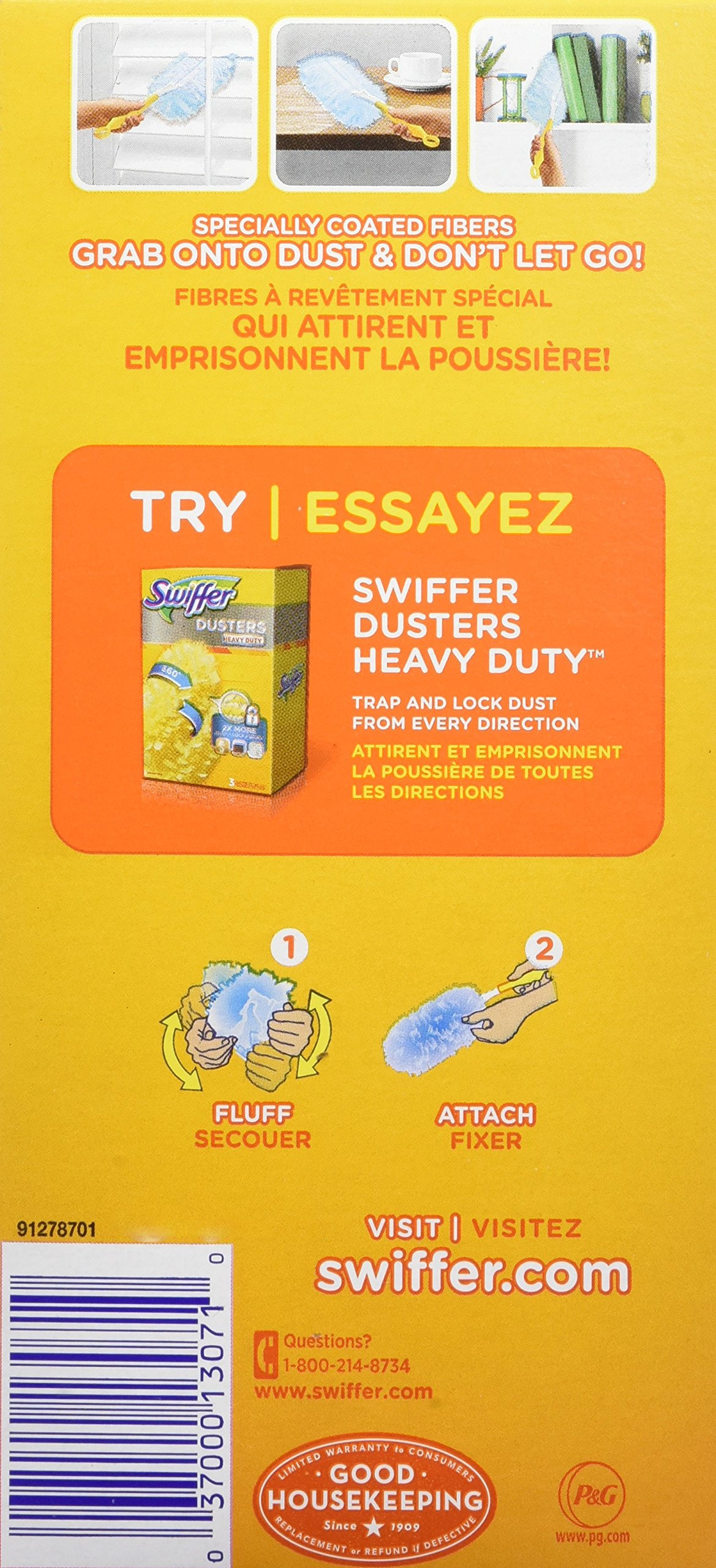 Swiffer Duster Refills, Unscented Dusters Refill, 16 Count, Swifter by Swiffer (Image #3)