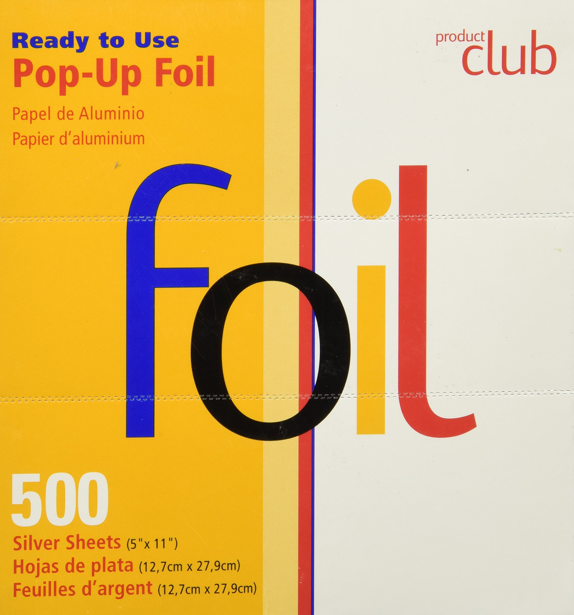 Product Club Foil Sheets 500 Count Pop Up