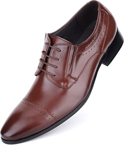 Mens Oxford Shoes Formal Leather Mens