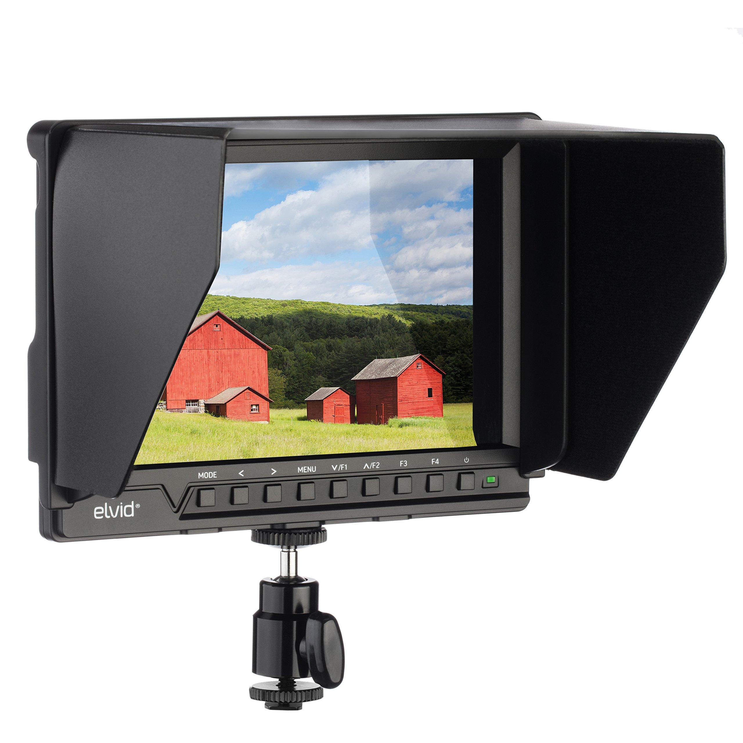 Elvid FieldVision 4KV2 7'''' On-Camera Monitor