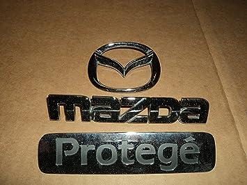 beauty fashion styles on feet shots of Amazon.com: 99 Mazda Protege Rear Trunk Chrome Badge B25D 51 ...