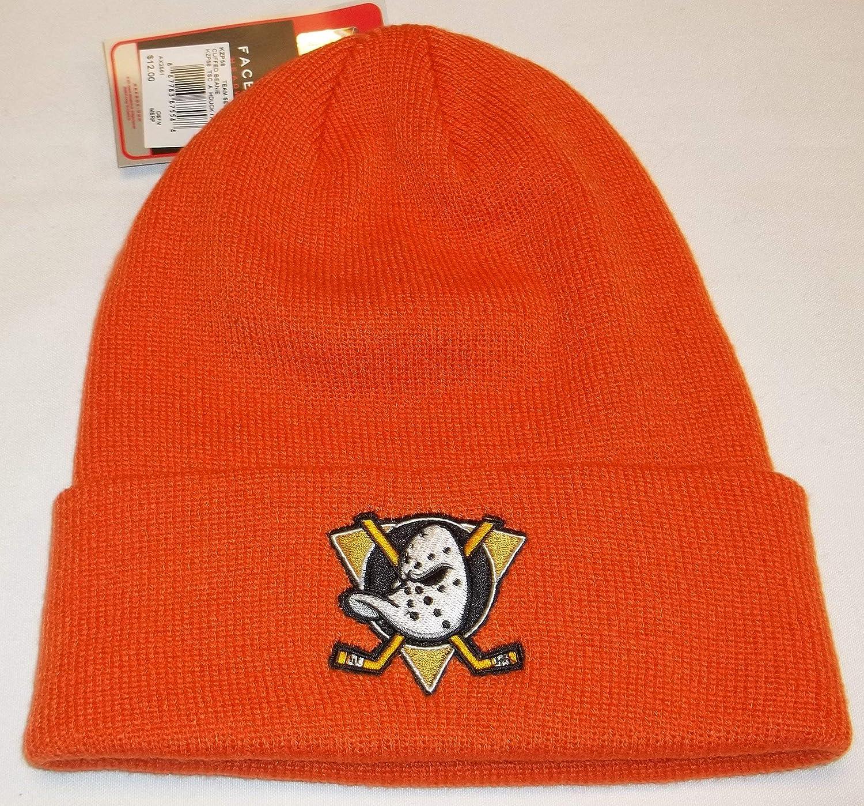 Reebok Anaheim Ducks Cuffed Knit Hat OSFM KZP58