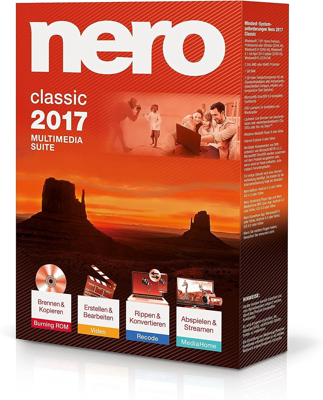 Nero ag logiciel nero 2017 classic: amazon. Fr: logiciels.