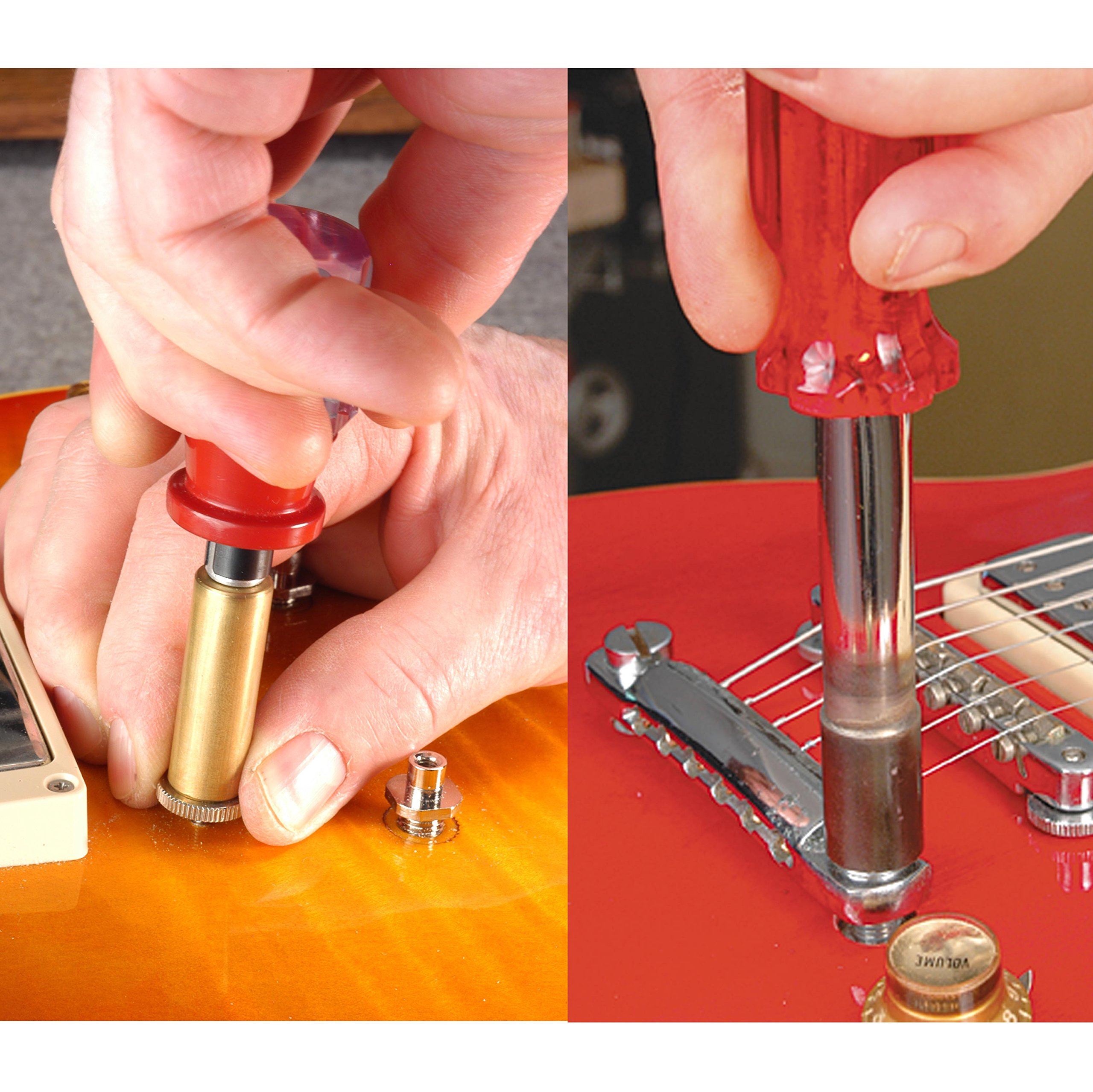 StewMac Tune-o-Medic Tool Set, for Use on Tune-O-Matic Bridges and Stop  Tailpieces