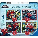 Ultimate Spider-Man - Puzzle 4 en la caja (Ravensburger 07363 4)