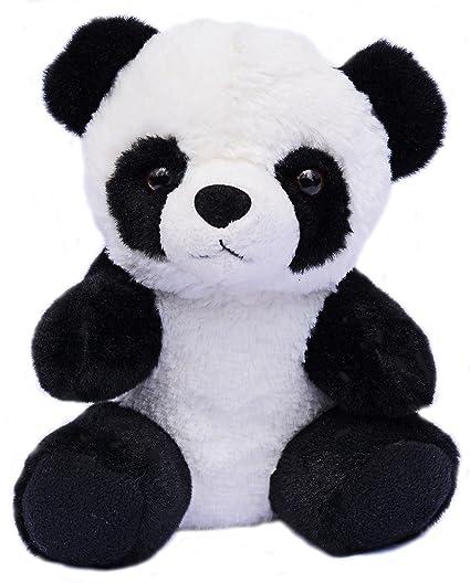 "Ikea Kramig Panda Bear Plush Floppy 12/"" Black White Soft Toy Stuffed Animal"