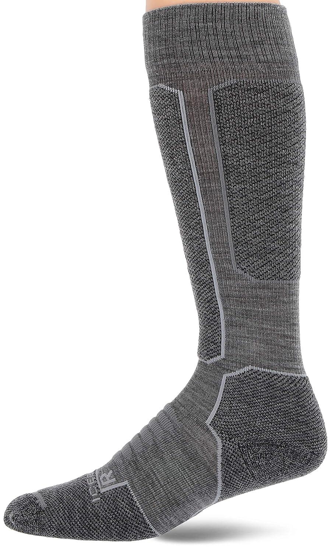 Icebreaker Ski Medium OTC Socks Men Cabernet//Jet Heather 2019 Chaussettes