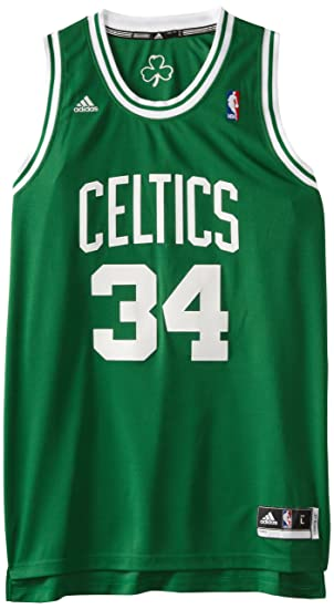 49bca8745 adidas NBA Boston Celtics Paul Pierce Swingman Jersey Green