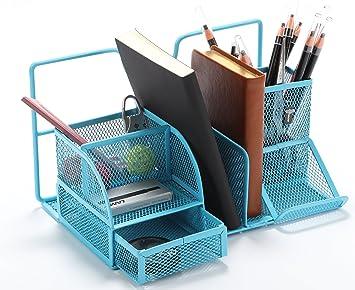 Amazon.com : Vencer Versatile Office Supply Caddy, Desk Organizer ...