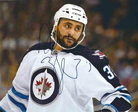 0ad0b4c518d Image Unavailable. Image not available for. Color: Autographed Dustin  Byfuglien 8x10 Winnipeg Jets ...