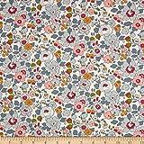 Liberty Fabrics Tana Lawn Betsy Multi Fabric by the Yard