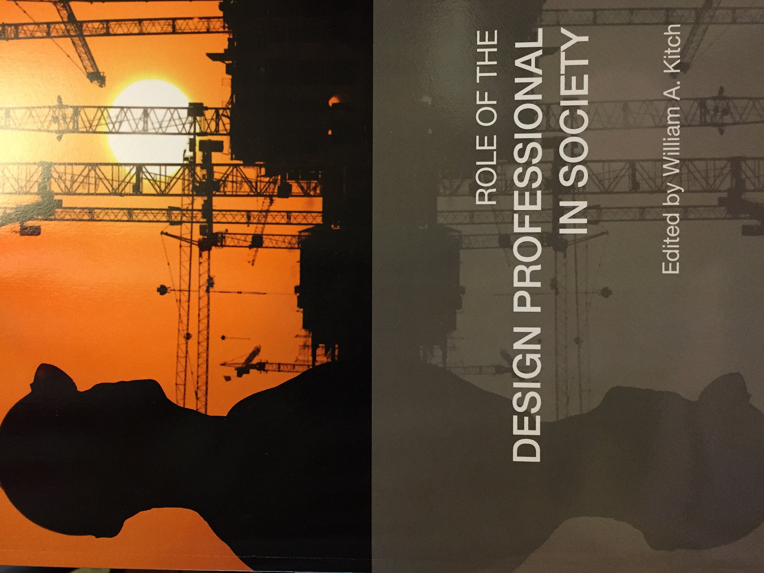 Role Of The Design Professional In Socitey PDF