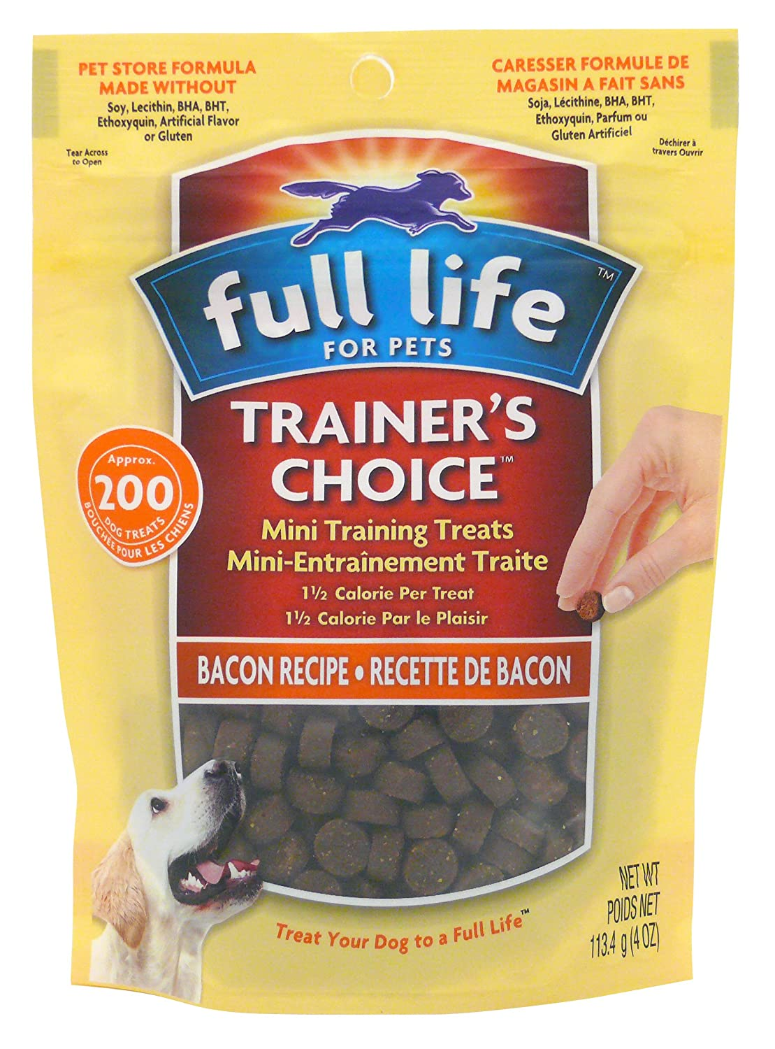 Full Life for Pets Full Lifetrainer's Choice, Bacon 4 oz, 1 Pouch