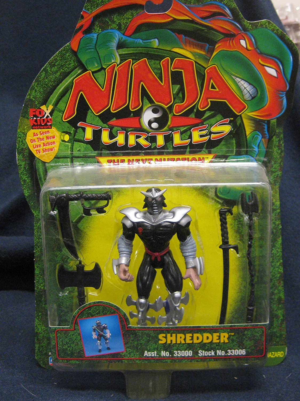 Ninja Turtles The Next Mutation Shredder Figure