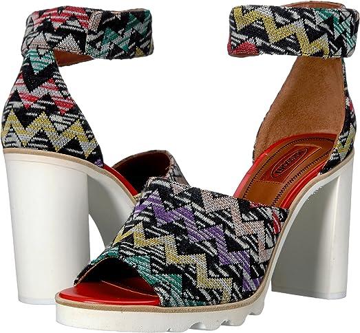 Missoni Ankle Band Zigzag Sandal Multi Women